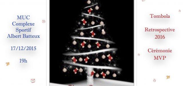 Samedi 17 décembre, le club invite tous ses licenciés et leurs proches à lasoirée de Noël des Barracudas ! Comme chaque année, la soirée se déroulera au siège du MUC, […]